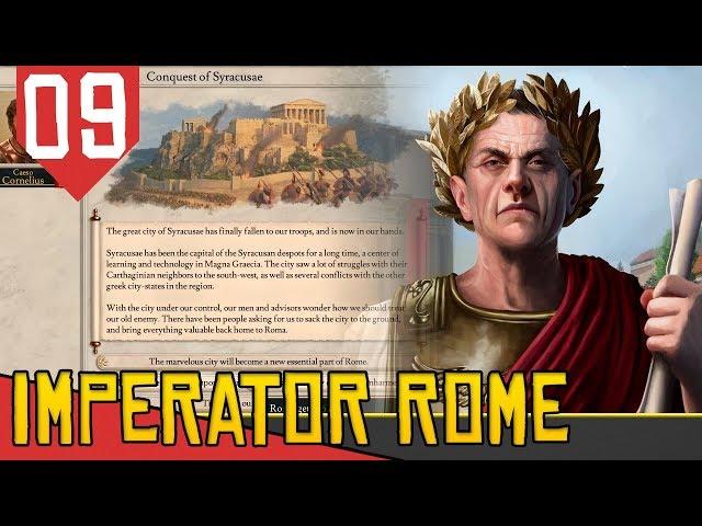 DEVASTANDO Cidades Históricas - Imperator Rome (2020) #09 [Série Gameplay Português PT-BR]