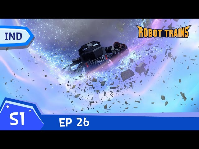 Robot Trains   #26   Another World   Episode penuh   Bahasa Indonesia     robottrainreplay