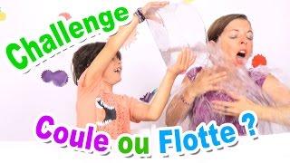 CHALLENGE COULE OU FLOTTE : Mère vs Fils !