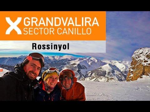 Descenso por Rossinyol. El Canillo, Andorra.