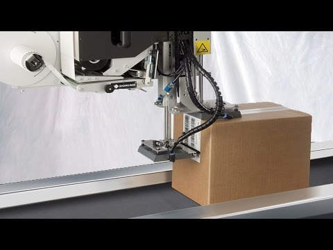 boxes carton sealing labeling real time printing side labeller date printing packing line automated
