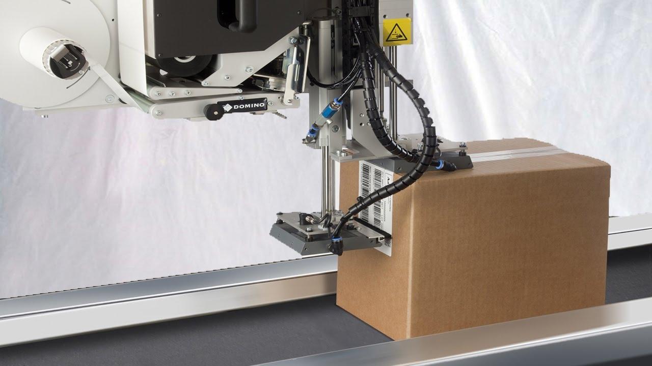 Boxes Carton Sealing Labeling Real Time Printing Side