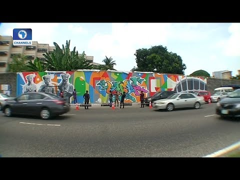 Art House: Graffiti Artist Changes The Face Of Lagos Streets