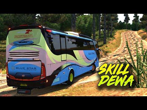 Butuh Skill Dewa Map Sulawesi - Euro Truck Simulator 2 Bus Bluestar Shd Offroad
