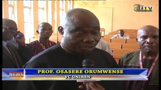 Vice Chancellor, UNIBEN, Prof. Osasere Orumwense Inaugurates Lecture Hall And Clinical Equipments