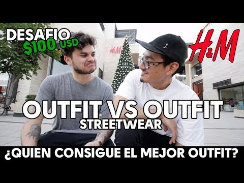 DESAFIO $100 USD OUTFIT H&M STREETWEAR | OUTFIT CHALLENGE