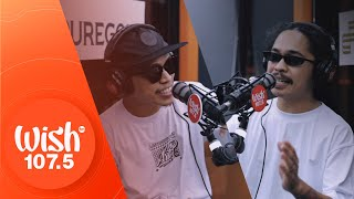 "CLR and Omar Baliw perform ""K&B II"" LIVE on Wish 107.5 Bus"