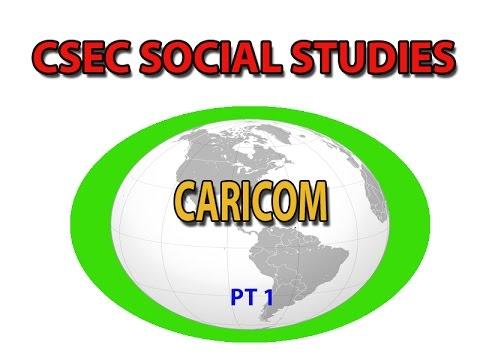 CARICOM (CSEC LECTURE SERIES, SOCIAL STUDIES)