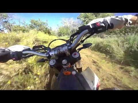 KTM  Enduro vs. High-Altitude Fire Breaks ✊