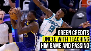 Green credits his uncle for his passing skills after career high in assists