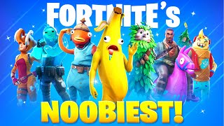15 Fortnite Skins ONLY Noobs Use