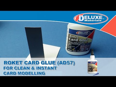 Roket Card Glue – For Clean & Instant Card Modelling