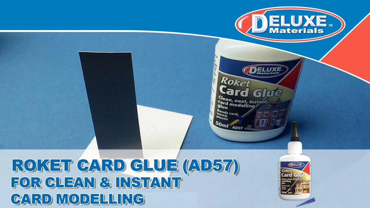 Roket Card Glue - For Clean & Instant Card Modelling