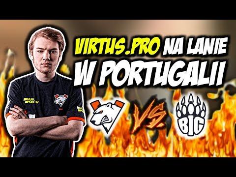 VIRTUS.PRO NA LANIE W PORTUGALII!!! SNAX KQLY STYLE, NIESAMOWITY COMEBACK VP - CSGO BEST MOMENTS