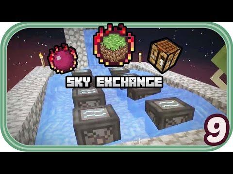 Wasser Mühlen und RFTools-Lager - Minecraft Sky Exchange #009 - Deutsch - Chigocraft