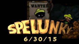 The Spelunky 2 Million Dollar Hunt, 6/30/15: Pitch Black