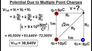 Physics - E&M: Ch 38.1 Voltage Potential Understood (9 of 24) Potential Due to Multiple Charges%%%