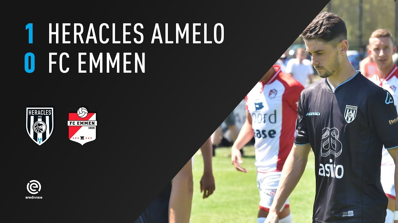 Heracles Almelo - FC Emmen 1-0 | 14-07-2018 | Samenvatting