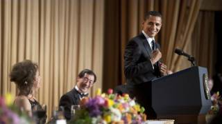 The President Gets Laughs at the White House Correspondents' Dinner