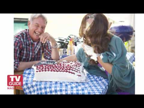 NCIS Food Fight! Cote De Pablo and Mark Harmon Cover Photo Shoot._(HD).avi
