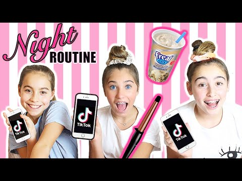 NIGHT ROUTINE Schools Out! | Rosie McClelland