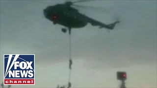 Audio released of Iran-British Navy exchange before oil tanker seizure