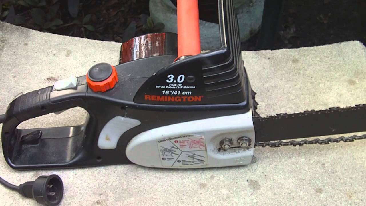 Remington electric chainsaw review youtube keyboard keysfo Choice Image