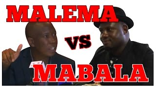 Malema Vs Mabala Noise (FULL VIDEO)