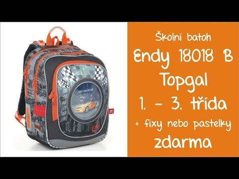 de59d1d20e Topgal Endy 18018 B školní batoh chlapecký