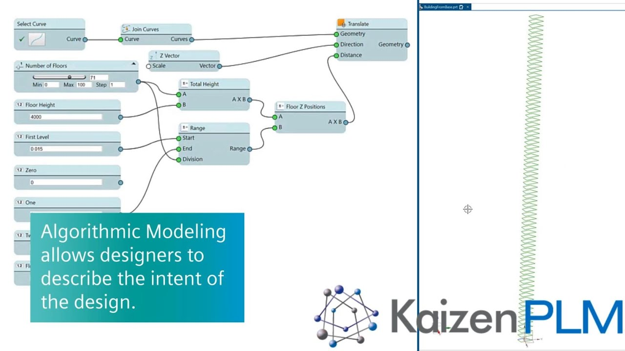 NX Algorithmic Modelling