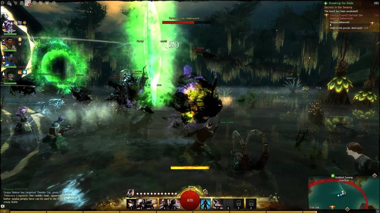 Guild Wars 2 - Reddit Raiders vs  Shadow Behemoth