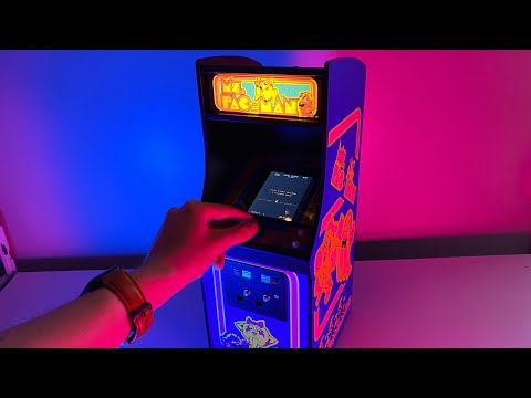 Ms. Pac Man 1/4 Scale Quarter Arcade By Numskull