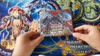 Yu-Gi-Oh! Dragons of Legend 2 box opening / Display unboxing