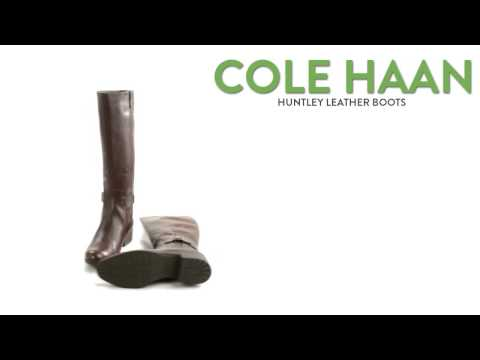 Cole Haan Huntley Leather Boots (For Women)