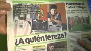 Peruano y su increíble colección sobre fútbol