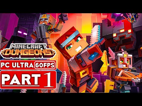 minecraft-dungeons-gameplay-walkthrough-part-1-[1080p-hd-60fps-pc-ultra]---no-commentary-(full-game)