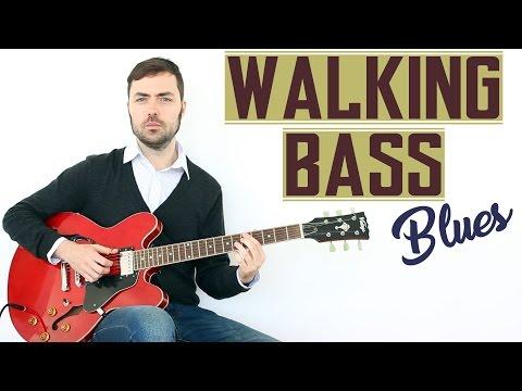 Cómo Tocar Blues con Walking Bass - Técnica de Guitarra