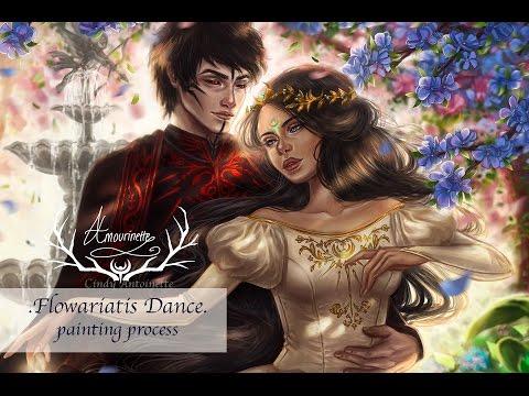 Flowariatis Dance (Digital Painting)