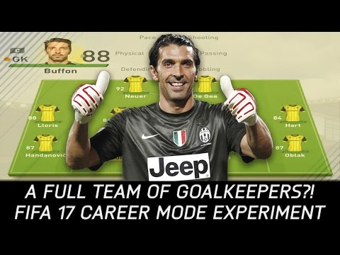 What If You Field A Full Team Of Goalkeepers? - FIFA 17 Experiment