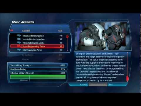 Mass Effect 3 - War Assets [HD] - Spoiler Alert