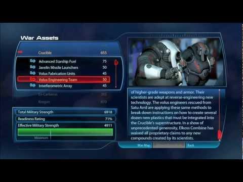 Mass Effect 3 - War Assets [HD] - Spoiler Alert