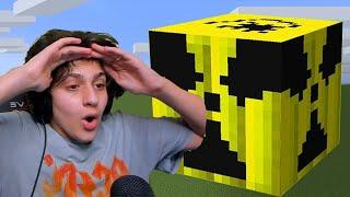جربت افجر اكبر قنبله تي ان تي في ماين كرافت Minecraft TNT