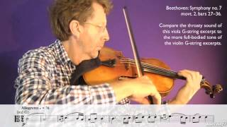 Orchestration 101: The String Section - 26. Introduction to the Viola