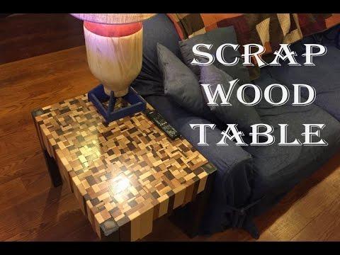 Scrap Wood End Tables