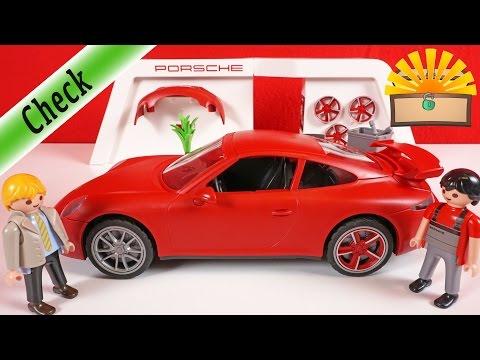 Welche FELGE ist BESSER? Playmobil 3911 PORSCHE 911 Carrera S Film deutsch