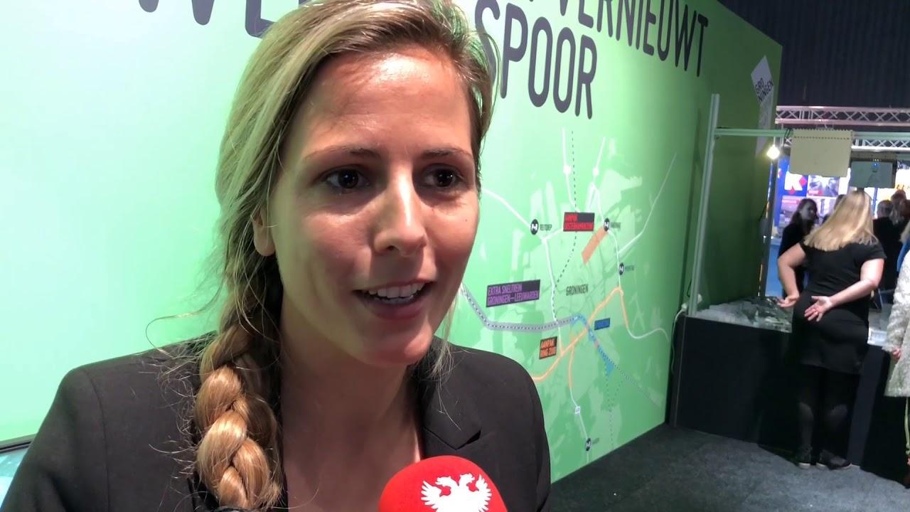 Drukte bij stand van Groningen Bereikbaar tijdens Promotiedagen