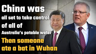 China was about to give Australia a thirsty farewell, but it got busted