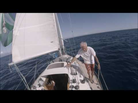Setting, flying and dousing Spinnaker Singlehanded