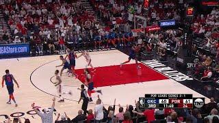 3rd Quarter, One Box Video: Portland Trail Blazers vs. Oklahoma City Thunder