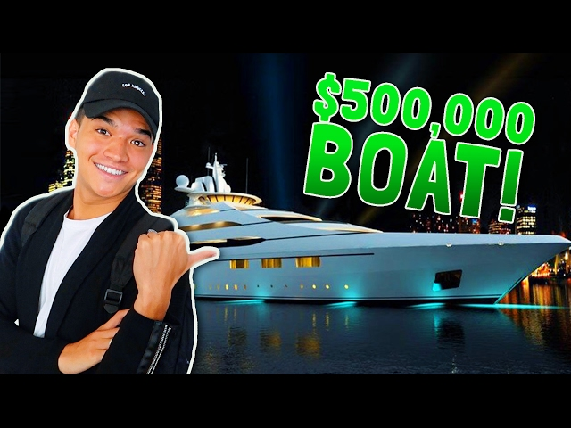 BUYING HER A BOAT!